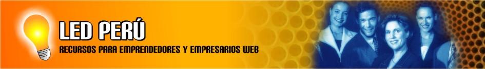 LED PERU Emprendedores web